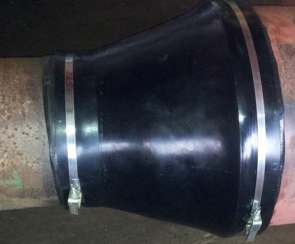 Манжета герметизирующая для защиты трубопроводов