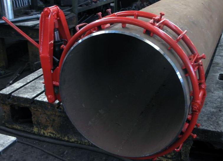 Центратор ЦНЭ на краю трубы