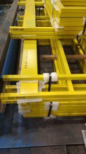 укрытие лебедочного блока металлоконструкция