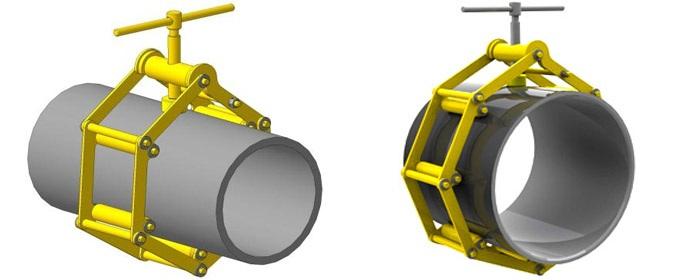 Центратор для сварки труб